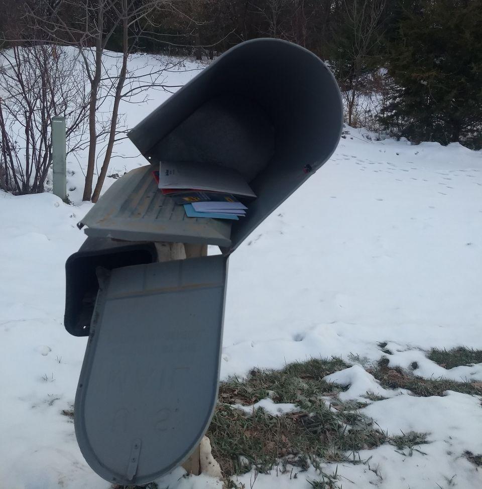 Death Of A Mailbox