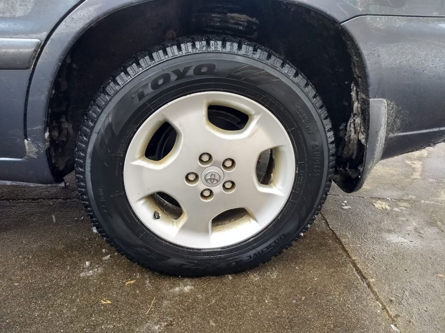 Snow Tires For Winter Driving on Rural Mail Carrier Routes